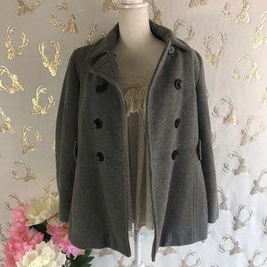 Calvin Klein Gray Coat Sz 6P (Z30)